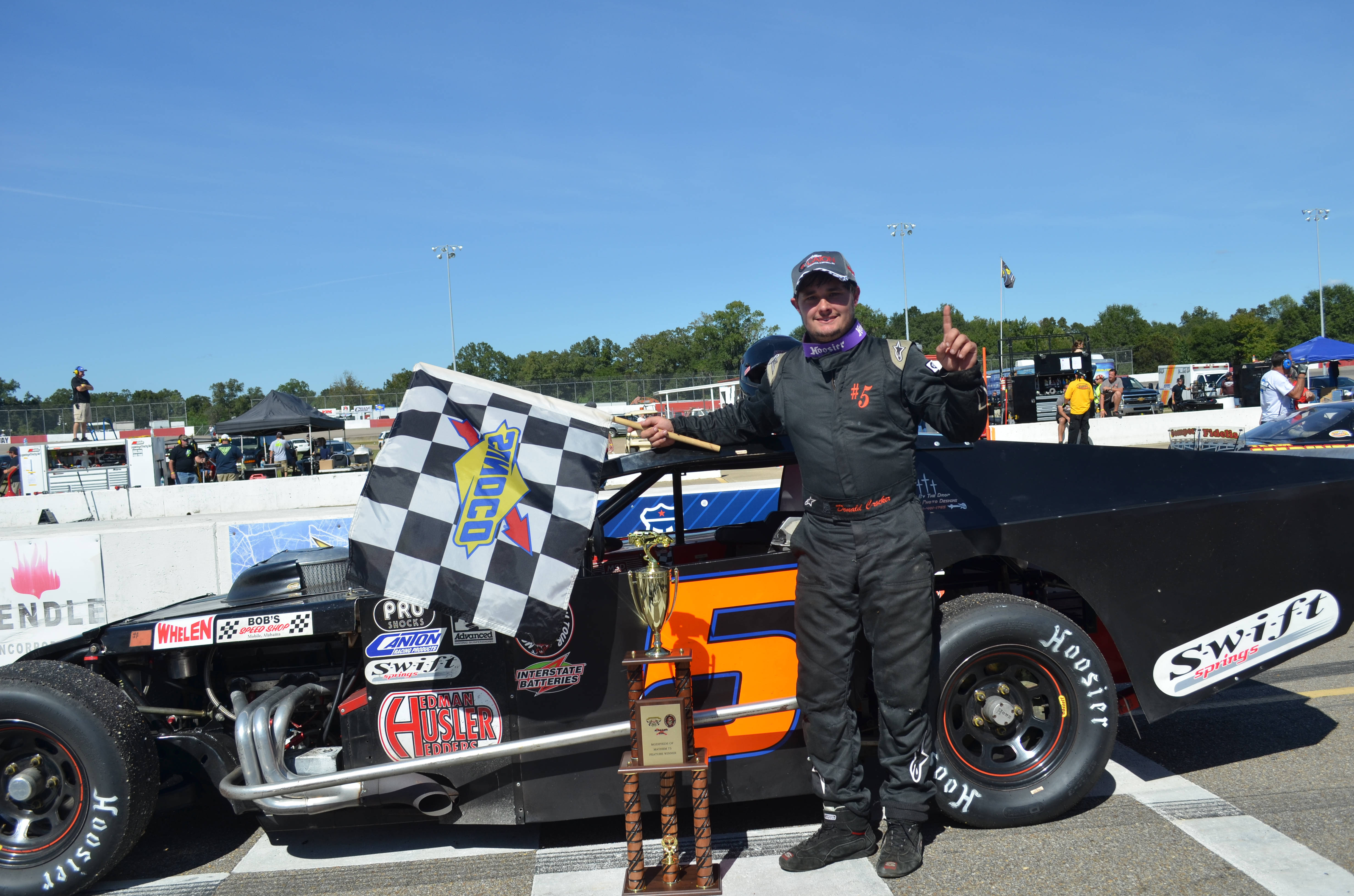 Alabama 200 a bear of a race montgomery motor speedway for Holmes motor in montgomery al